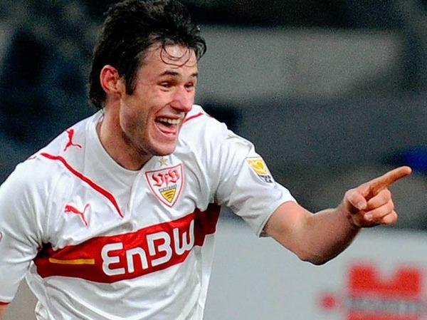 Christian Träsch, Mittelfeldspieler vom VfB Stuttgart