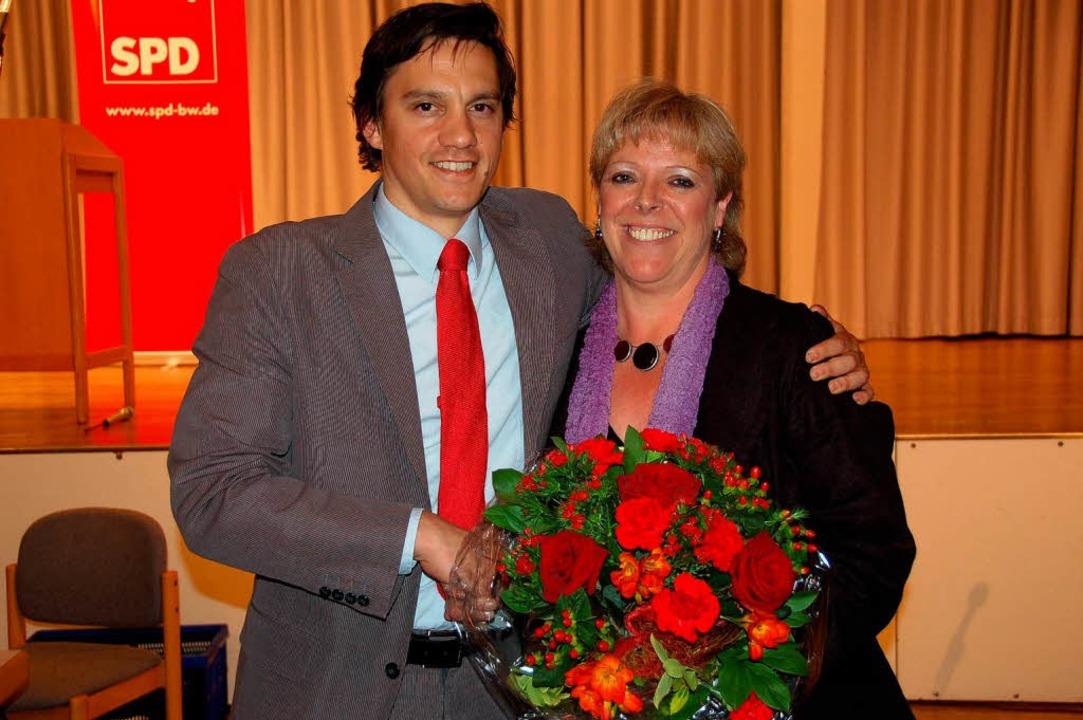 SPD-Kreisvorsitzender Johannes Fechner...tagswahl als Kandidatin antreten wird.    Foto: Marius Alexander