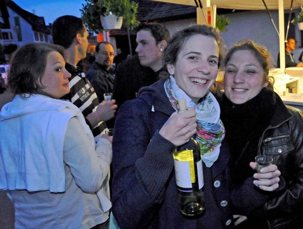 Wein, Gesang &amp;#8211; und auch der Rest kommt nicht zu kurz: Eindrcke von den St. Georgener Weintagen