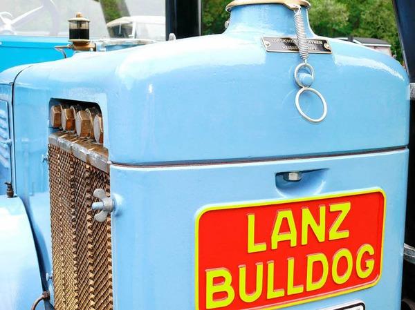 Bulldogtreffen in Diersburg.