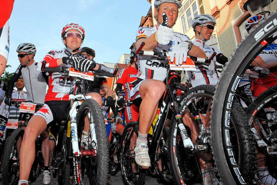 Die Mountainbike Challenge in Offenburg (Foto: Michael Heuberger)