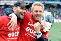 Der FC Basel holt das Double – Fan-Krawalle in Bern