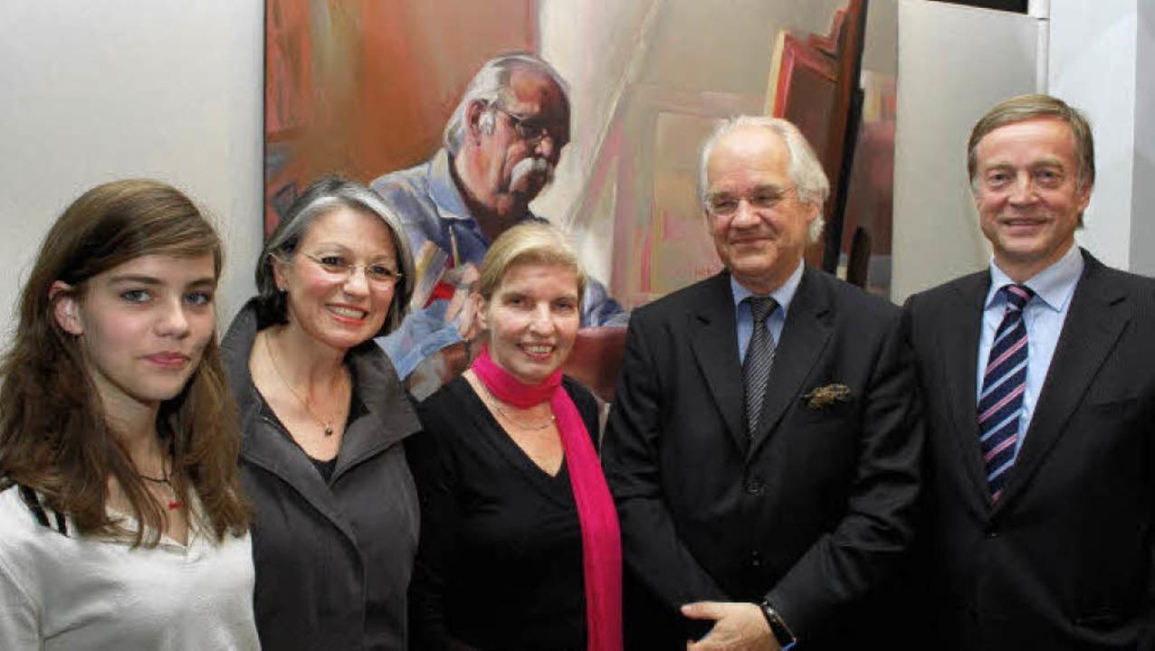 Héloise, Sylvie Desmoulin, Ulrike Bach...nntes Protrait des Malers Lecoultre).     Foto: Axel Dröber