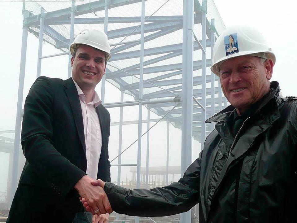 Investor, Bauherr und Betreiber Josef ...er Geschäftsleiter des Badeparadieses.  | Foto: peter stellmach