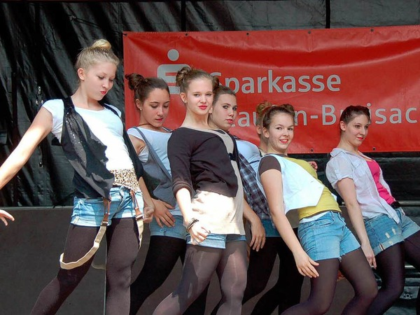 Beim Street Dance Contest gingen 13 Gruppen an den Start.
