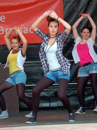 13 Gruppen gingen beim Street Dance Contest an den Start.