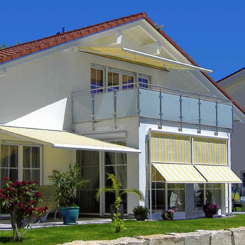 Markisen Haus Garten Badische Zeitung