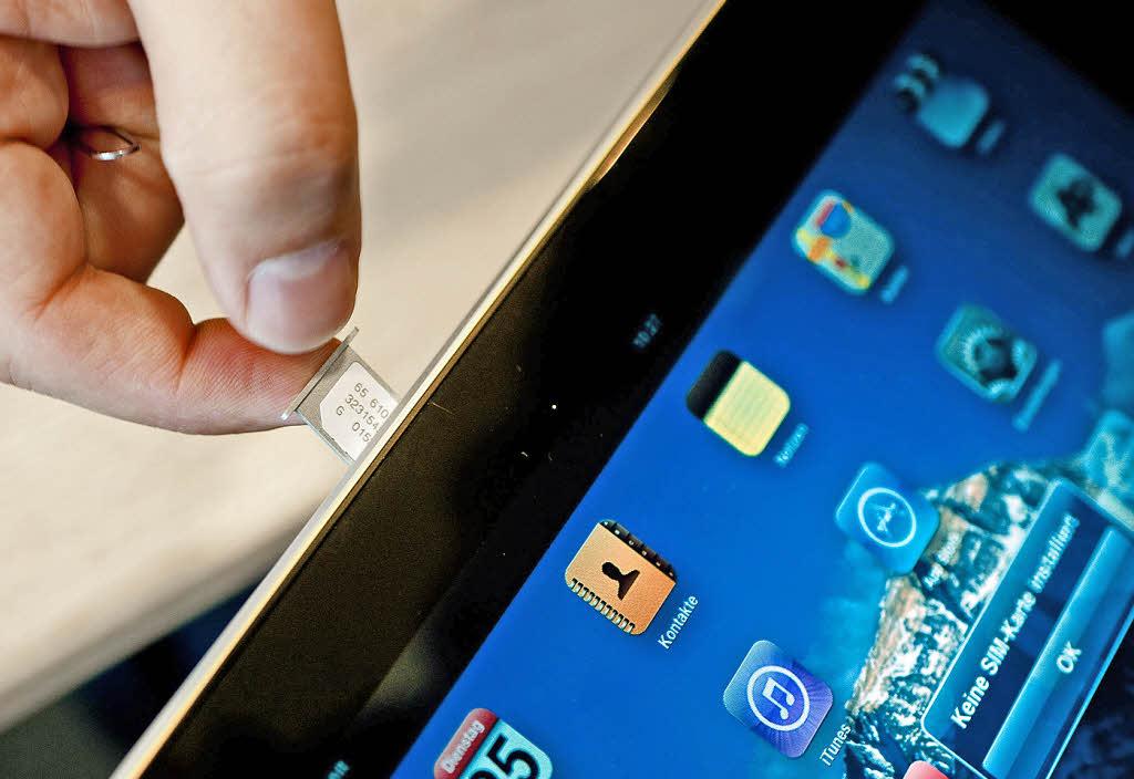 mit dem apple tablet immer online computer medien badische zeitung. Black Bedroom Furniture Sets. Home Design Ideas