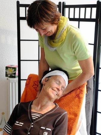 Wohlfühlen und Entspannen - auch ruhige Ecken bot die Gewerbeschau