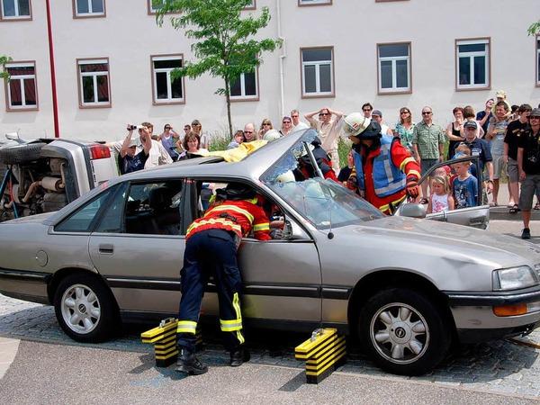 Impressionen vom Jubil�umsfest der Breisacher Feuerwehr