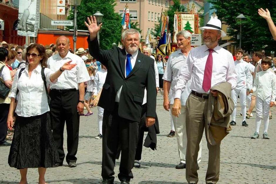Mit einem Festumzug endete am Sonntag das Landesturnfest in Offenburg. (Foto: hrö)