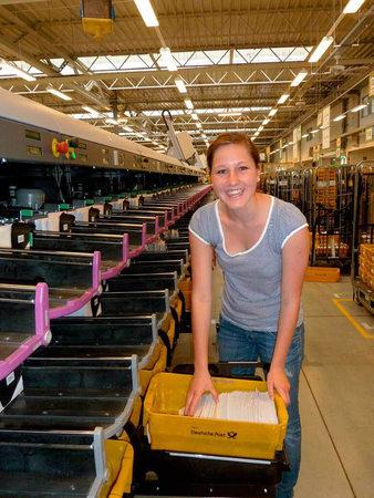 Offenburg Briefzentrum 88 000 Briefe Pro Stunde Post