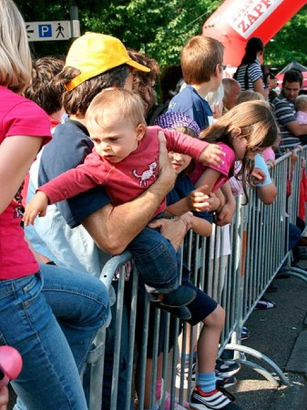 Impressionen von den Kinder- und Jugendl�ufen beim Sonnwendlauf in Seelbach