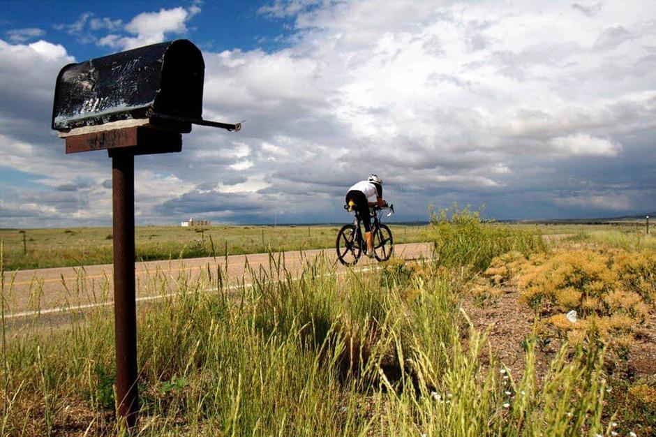 Michael Nehls durchquerte die USA in elf Tagen. (Foto: Patik Müller)