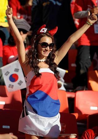 Der Fußballgott stand zwar nicht auf der Seite Südkoreas, dafür aber ein Fußball-Teufelchen.