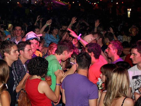 4200 junge Menschen bei der zwölften Beachparty in Freiamt