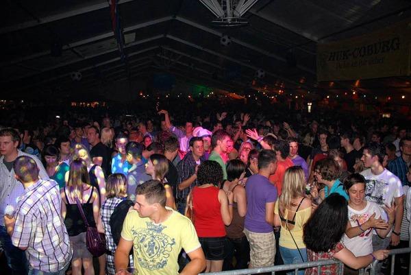 4200 junge Menschen bei der zw�lften Beachparty in Freiamt