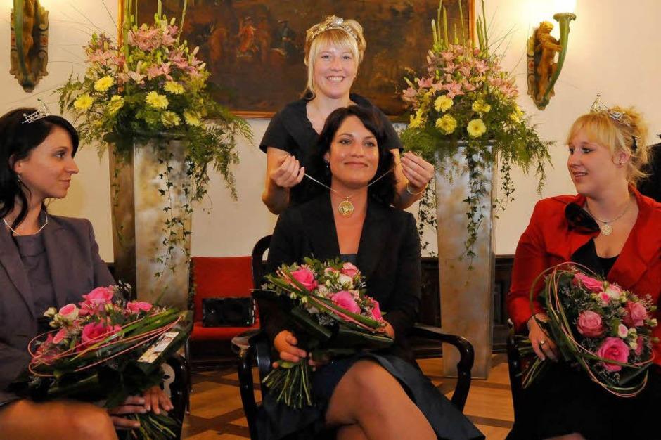 Die Wahl zur Badischen Weinkönigin. (Foto: Michael Bamberger)