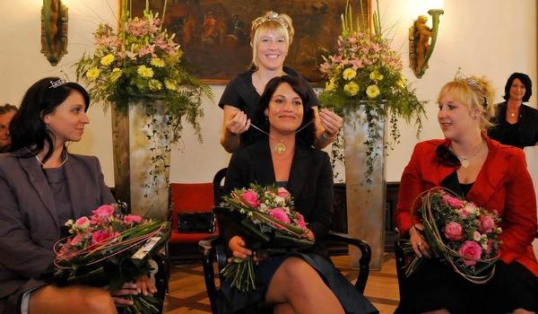 Die Wahl zur Badischen Weinkönigin.