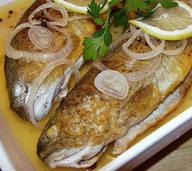 Sauer eingelegte Forellen: Erfrischung gefällig?