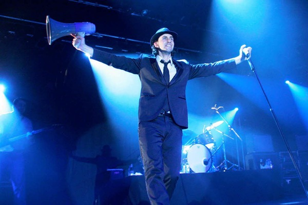 Maximo Park auf dem ZMF in Freiburg