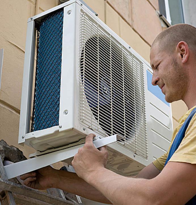 Die Klimaanlage sollte nur von einem Fachmann installiert werden.  | Foto: fotolia.com