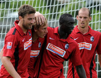 Fotos: SC Freiburg schlägt Sochaux mit 3:0