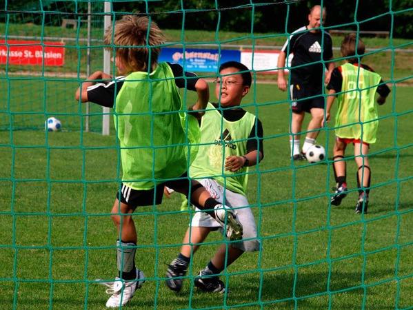 """Die Königsdisziplin für die jungen Fußballer ist natürlich immer noch das """"richtige"""" Spiel"""
