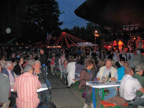 Lichterfest im Kurpark von Bad Krozingen