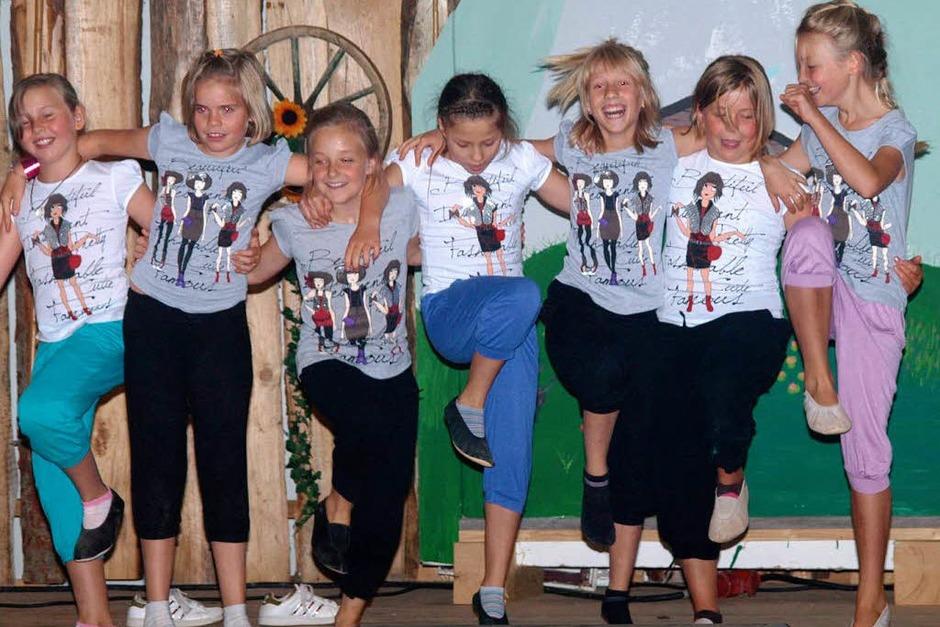 Gar nicht satttanzen konnten sich die jungen Turnerinnen des TuS Dachsberg. (Foto: Karin Stöckl-Steinebrunner)