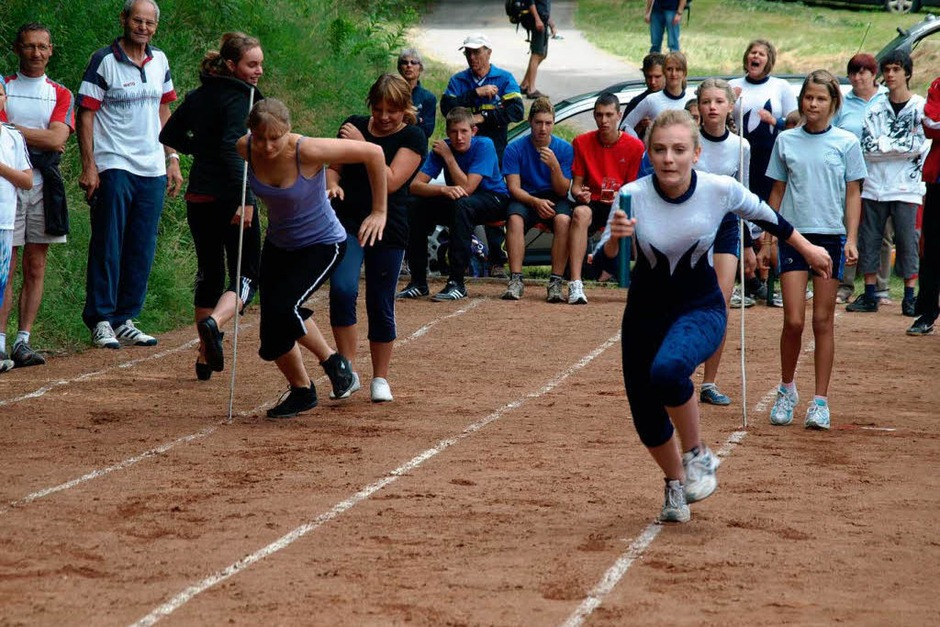 Spannend wurde es  beim Staffellauf am Sonntagnachmittag (Foto: Karin Stöckl-Steinebrunner)