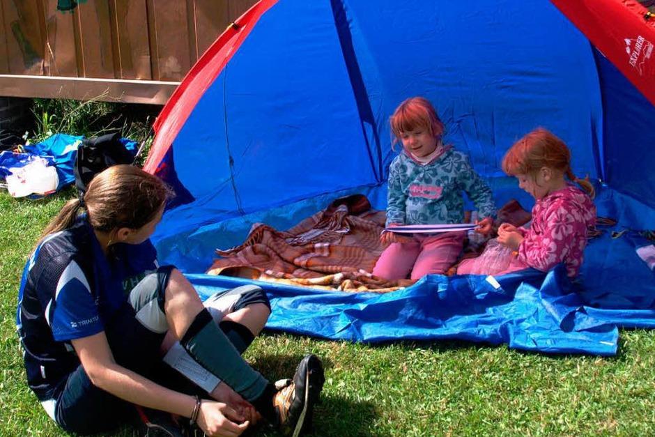 Gern wurden auch die Übernachtungsangebote genutzt –  und die ganze Familie war mit dabei. (Foto: Karin Stöckl-Steinebrunner)