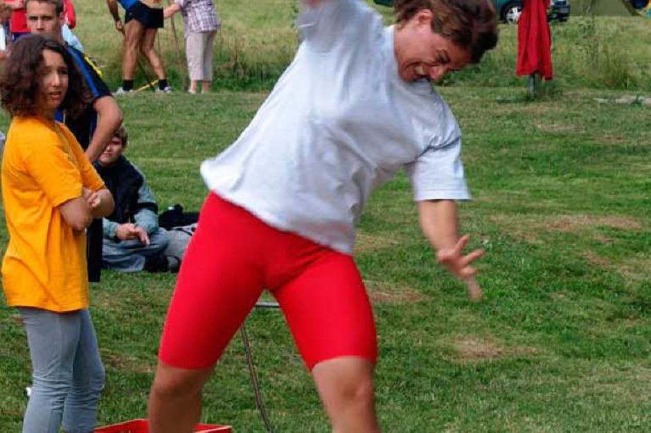 Voller Einsatz bei den Leichtathleten (Foto: Karin Stöckl-Steinebrunner)