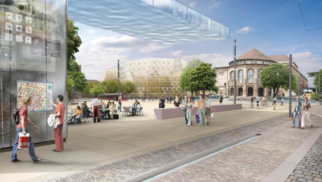 So ähnlich wird er einmal aussehen, de...drand zu sehen ist, wird nicht gebaut.  | Foto: www.gd90.de
