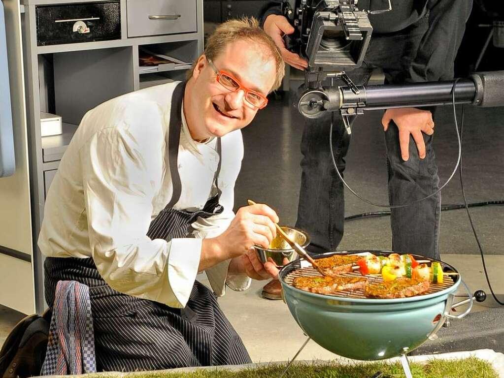 Koch bei der arbeit  Die besten Grilltipps von Sterne-Koch Andreas Miessmer ...