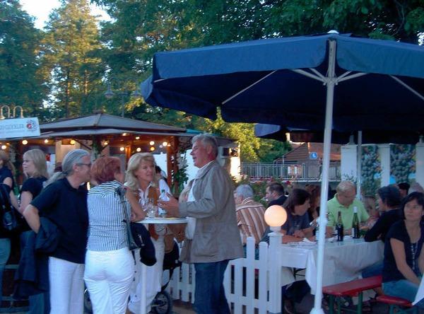Das Markgräfler Weinfest lockte zahlreiche Besucher an.