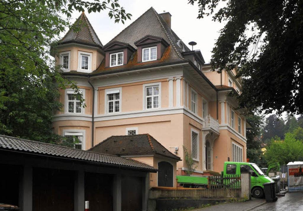 Villa Freiburg villa mit wechselvoller geschichte freiburg süd badische zeitung