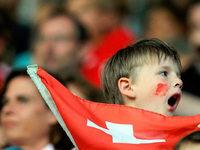 Fotos: Teampräsentation und Testspiel beim SC Freiburg