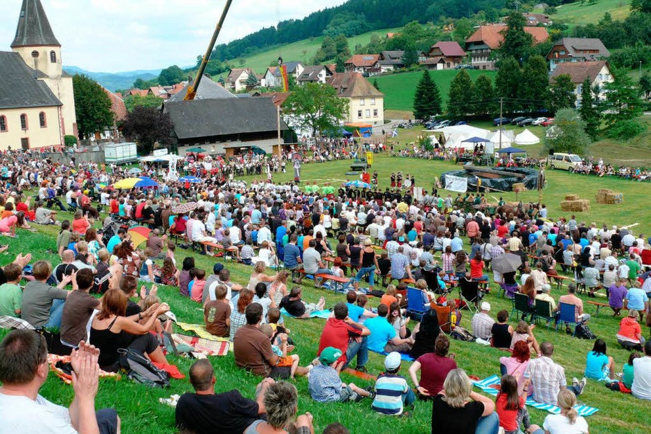 Impressionen von den Highland-Games in Biberach-Prinzbach (Foto: Frank Leonhardt)