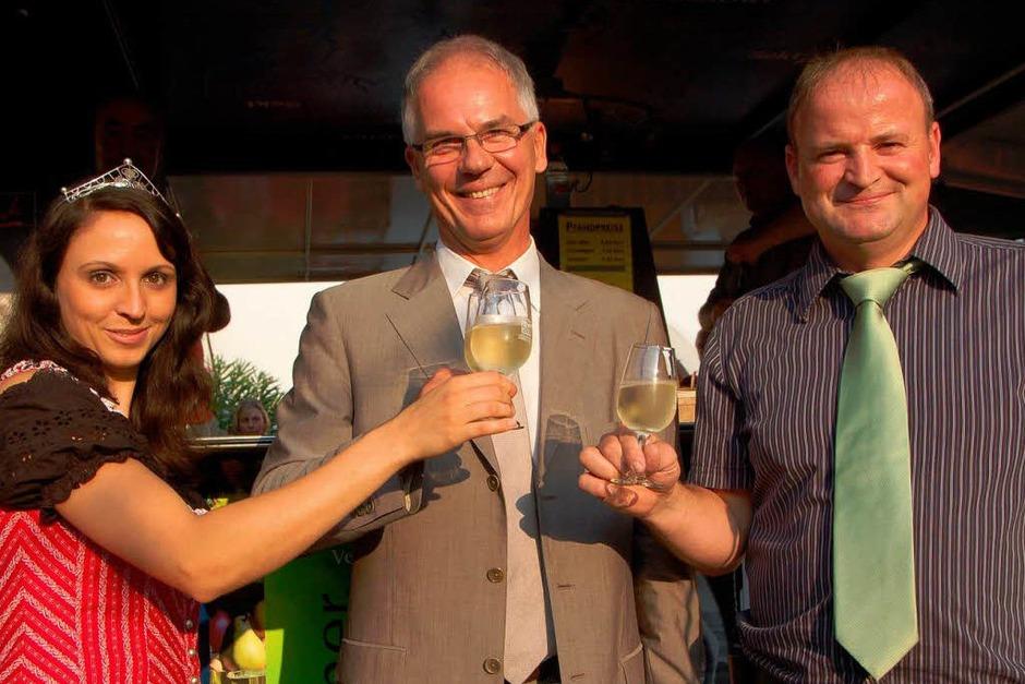 Impressionen von den Ebringer Weintagen. <?ZP?> (Foto: Tanja Bury)