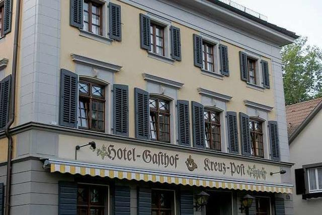 Staufen: Gasthof Kreuz-Post