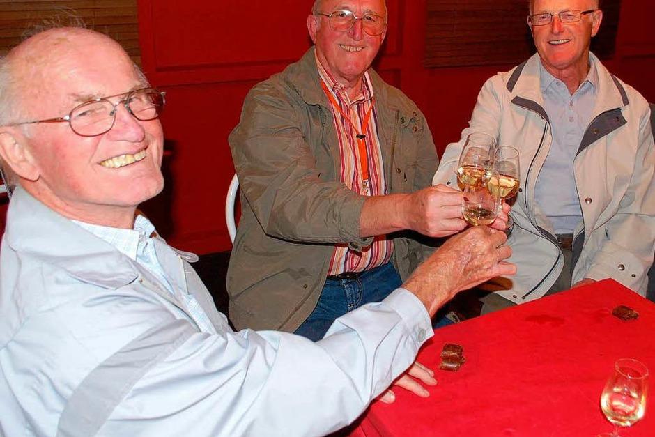Weingenuss und gute Laune (Foto: Benjamin Bohn)