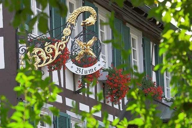 Offenburg: Gasthof Blume