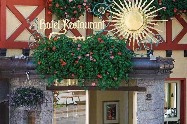 St. Peter: Restaurant Sonne