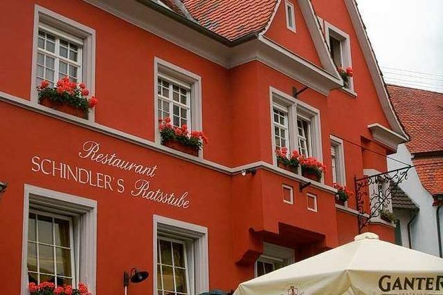Endingen: Schindlers Ratsstube