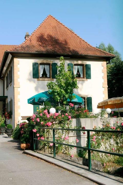Das Restaurant Engemühle in Efringen-Kirchen/Wintersweiler.  | Foto: Patrik Müller