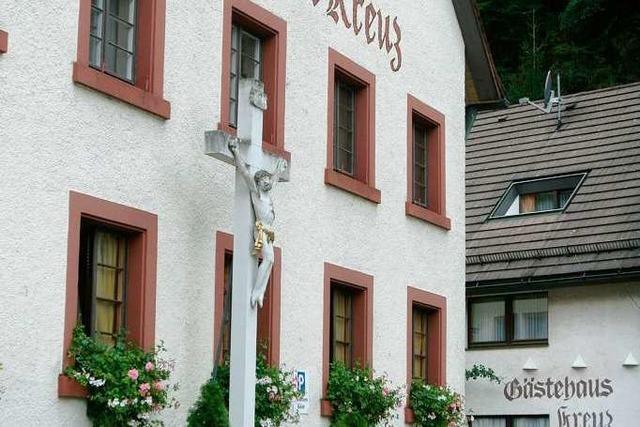 Freiburg-Kappel: Restaurant Kreuz