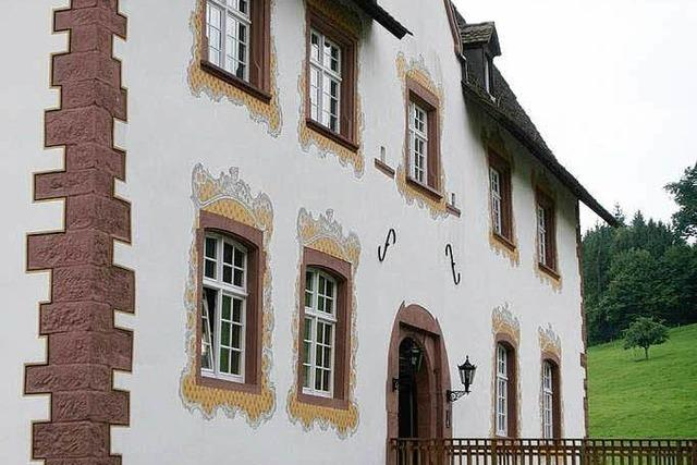 Inzlingen: Wasserschloss