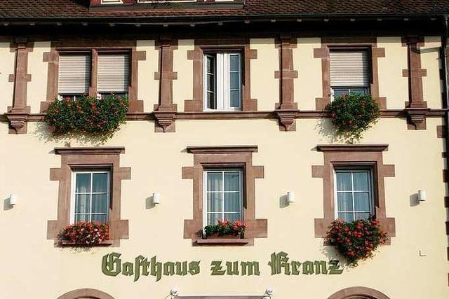 Lörrach: Restaurant Zum Kranz