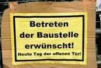 Fotos: Stuttgart 21  Bilder vom Bauzaun